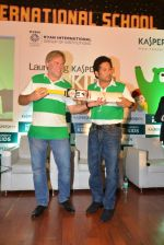 Sachin Tendulkar and Eugene Kaspersky launch Kaspersky kids awareness program in Ryan International School, Mumbai on 23rd July 2014 (81)_53cfefc56ab4f.JPG