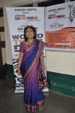 Naina Kanodia  at NDTV Save The Tigers contest in Dharavi, Mumbai on 24th July 2014 (19)_53d24d4226742.JPG
