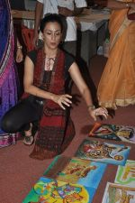 Shivani Wazir at NDTV Save The Tigers contest in Dharavi, Mumbai on 24th July 2014 (31)_53d24d5e45862.JPG