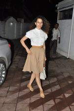 Kangana Ranaut at Bhansali_s party for Mary Kom completion in Bandra, Mumbai on 25th July 2014 (23)_53d3a050f3b5e.JPG