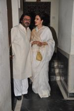 Rekha, Sanjay Leela Bhansali at Bhansali_s party for Mary Kom completion in Bandra, Mumbai on 25th July 2014 (195)_53d3a1cc3765c.JPG
