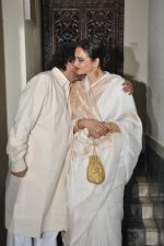 Rekha, Sanjay Leela Bhansali at Bhansali_s party for Mary Kom completion in Bandra, Mumbai on 25th July 2014 (196)_53d3a16600dab.JPG