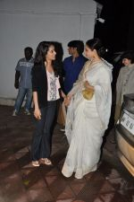 Rekha, Shraddha Kapoor at Bhansali_s party for Mary Kom completion in Bandra, Mumbai on 25th July 2014 (35)_53d3a1671e16b.JPG