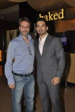 Anil Thadani, Abhinav Shukla at Kamal Saldanah_s roar film launch in Mumbai on 31st July 2014 (19)_53db8cdcde254.JPG