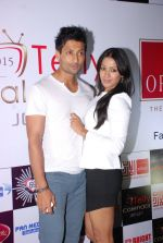 Barkha Bisht, Indraneil Sengupta at Telly House calendar launch in Mumbai on 31st July 2014 (50)_53db809c98f22.JPG