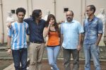 Raghav Juyal, Ali Fazal, Rhea Chakraborty, Charu Dutt Acharya, Rohan Sippy at Sippy_s Sonali Cable poster shoot in Mehboob, Mumbai on 1st Aug 2014 (208)_53dccb5450397.JPG