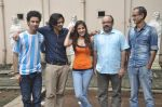 Raghav Juyal, Ali Fazal, Rhea Chakraborty, Charu Dutt Acharya, Rohan Sippy at Sippy_s Sonali Cable poster shoot in Mehboob, Mumbai on 1st Aug 2014 (211)_53dccb55b81e9.JPG