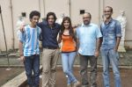 Raghav Juyal, Ali Fazal, Rhea Chakraborty, Charu Dutt Acharya, Rohan Sippy at Sippy_s Sonali Cable poster shoot in Mehboob, Mumbai on 1st Aug 2014 (216)_53dccb572459e.JPG