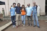 Raghav Juyal, Ali Fazal, Rhea Chakraborty, Charu Dutt Acharya, Rohan Sippy at Sippy_s Sonali Cable poster shoot in Mehboob, Mumbai on 1st Aug 2014 (222)_53dccb596de1f.JPG