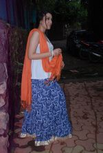 Anchal Singh at the shooting of Hai Tu in Madh Island on 4th Aug 2014 (10)_53e1cb987afae.JPG