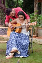 Ankit Saraswat with Anchal Singh at the shooting of Hai Tu in Madh Island on 4th Aug 2014 (24)_53e1cc4e620b1.JPG