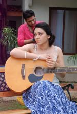 Ankit Saraswat with Anchal Singh at the shooting of Hai Tu in Madh Island on 4th Aug 2014 (29)_53e1cc4ff3212.JPG