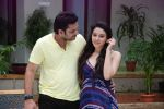 Ankit Saraswat with Anchal Singh at the shooting of Hai Tu in Madh Island on 4th Aug 2014 (13)_53e1cc47c2c86.JPG