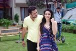 Ankit Saraswat with Anchal Singh at the shooting of Hai Tu in Madh Island on 4th Aug 2014 (18)_53e1cbb15a2a4.JPG
