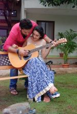 Ankit Saraswat with Anchal Singh at the shooting of Hai Tu in Madh Island on 4th Aug 2014 (31)_53e1cc519417d.JPG