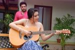 Ankit Saraswat with Anchal Singh at the shooting of Hai Tu in Madh Island on 4th Aug 2014 (33)_53e1cc5312a35.JPG