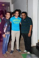 Sajid, Tusshar Kapoor, Farhad at It_s Entertainment special screening in Sunny Super Sound on 6th Aug 2014 (49)_53e35d1c805a0.JPG