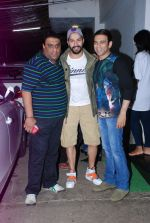 Sajid, Varun Dhawan, Farhad at It_s Entertainment special screening in Sunny Super Sound on 6th Aug 2014 (48)_53e35d543ff90.JPG