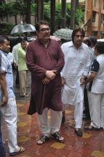 Raza Murad at Dharmesh Tiwari_s sudden demise in Parle on 7th Aug 2014 (31)_53e4d3704b3a0.JPG