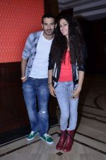 Amrit Maghera, Saahil Prem  at the promotion of Mad About Dance film in Taj Lands End on 8th Aug 2014 (19)_53e6139aad038.JPG