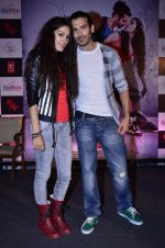 Amrit Maghera, Saahil Prem at the promotion of Mad About Dance film in Taj Lands End on 8th Aug 2014 (96)_53e613a086985.JPG