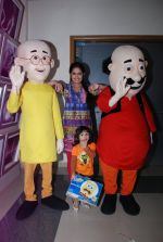 Avika Gor on location Sasural Simar Ka with Nicktoons Motu Patlu in Mira Road on 8th Aug 2014 (20)_53e5b87b6abcc.JPG