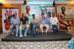 Ajay Devgan, Rohit Shetty, Mahesh Manjrekar at Marathi film Rege promotions in Mumbai on 9th Aug 2014 (45)_53e756a8e7d4a.JPG