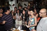 Vatsal Seth, Simone Singh, Sanjeeda Sheikh at Ek Haseena Thi 100 episodes completion at Eddie_s Bistro Pali Hill on 8th Aug 2014 (194)_53e763976d840.JPG