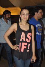 Ameesha Patel at the launch of trailer Ekkees Toppon Ki Salaami in PVR on 11th Aug 2014 (401)_53ea1a8060772.JPG