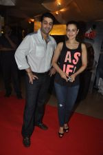 Ameesha Patel at the launch of trailer Ekkees Toppon Ki Salaami in PVR on 11th Aug 2014 (406)_53ea1a86e1924.JPG