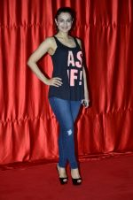 Ameesha Patel at the launch of trailer Ekkees Toppon Ki Salaami in PVR on 11th Aug 2014 (410)_53ea1a8c424e0.JPG