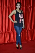 Ameesha Patel at the launch of trailer Ekkees Toppon Ki Salaami in PVR on 11th Aug 2014 (412)_53ea1a8ee3fe0.JPG