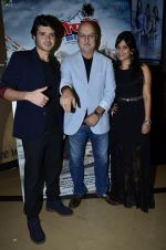 Divyendu Sharma, Anupam Kher, Aditi Sharma at the launch of trailer Ekkees Toppon Ki Salaami in PVR on 11th Aug 2014 (721)_53ea187a0098b.JPG