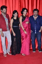 Irrfan Khan, Tigmanshu Dhulia, Neha Dhupia, Aditi Sharma at the launch of trailer Ekkees Toppon Ki Salaami in PVR on 11th Aug 2014 (385)_53ea187e2d118.JPG
