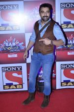 Ajaz Khan at SAB Ke anokhe awards in Filmcity on 12th Aug 2014 (387)_53eb62e1b9e55.JPG