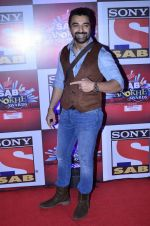 Ajaz Khan at SAB Ke anokhe awards in Filmcity on 12th Aug 2014 (390)_53eb62e664827.JPG