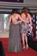 Bipasha Basu, Khushali Kumar on ramp to promote Creature 3d film in R City Mall, Mumbai on 12th Aug 2014 (417)_53eb72ff022c8.JPG