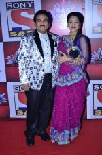Dilip Joshi, Disha Vakani at SAB Ke anokhe awards in Filmcity on 12th Aug 2014 (589)_53eb67f6a9408.JPG