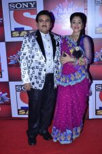 Dilip Joshi, Disha Vakani at SAB Ke anokhe awards in Filmcity on 12th Aug 2014 (591)_53eb67f820650.JPG