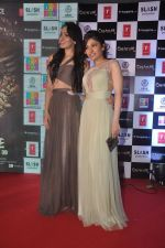 Khushali Kumar, Tulsi Kumar on ramp to promote Creature 3d film in R City Mall, Mumbai on 12th Aug 2014 (74)_53eb731fc7e6f.JPG