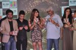 Vikram Bhatt, Bhushan Kumar, Bipasha Basu, Khushali Kumar, Tulsi Kumar on ramp to promote Creature 3d film in R City Mall, Mumbai on 12th Aug 2014 (636)_53eb73383362d.JPG
