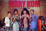 Mary Kom, Priyanka Chopra, K Onler Kom, Darshan Kumaar at Mary Kom music launch presented by Usha International in ITC Grand Maratha on 13th Aug 2014 (196)_53ec75d78fed6.JPG