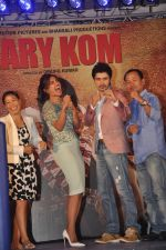 Priyanka Chopra, Mary Kom at Mary Kom music launch presented by Usha International in ITC Grand Maratha on 13th Aug 2014 (164)_53ec75facfcda.JPG