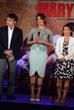 Priyanka Chopra, Mary Kom at Mary Kom music launch presented by Usha International in ITC Grand Maratha on 13th Aug 2014 (176)_53ec7601d5f95.JPG