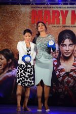 Priyanka Chopra, Mary Kom at Mary Kom music launch presented by Usha International in ITC Grand Maratha on 13th Aug 2014 (196)_53ec760610218.JPG