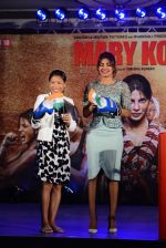 Priyanka Chopra, Mary Kom at Mary Kom music launch presented by Usha International in ITC Grand Maratha on 13th Aug 2014 (208)_53ec760e7f289.JPG