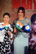 Priyanka Chopra, Mary Kom at Mary Kom music launch presented by Usha International in ITC Grand Maratha on 13th Aug 2014 (210)_53ec768b7926c.JPG