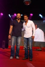 Ajay Devgan, Rohit Shetty promotes Singham Returns in Mithibai college on 14th Aug 2014 (102)_53ed69d350d0e.JPG