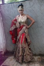 Carol Gracias at Rohit Verma_s his newest collection Vrindavan on 14th Aug 2014 (54)_53ede2977f58c.JPG