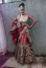 Carol Gracias at Rohit Verma_s his newest collection Vrindavan on 14th Aug 2014 (55)_53ede298f2ab3.JPG
